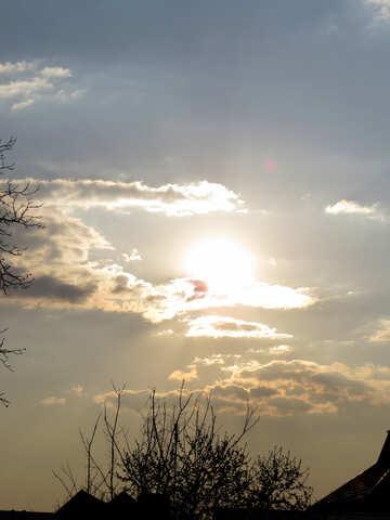 Awesome sunset №23923