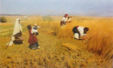 Painting Pymonenko №23503