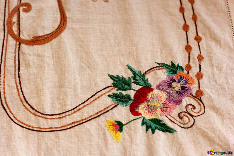 Old Ukrainian embroidery ornament №23480