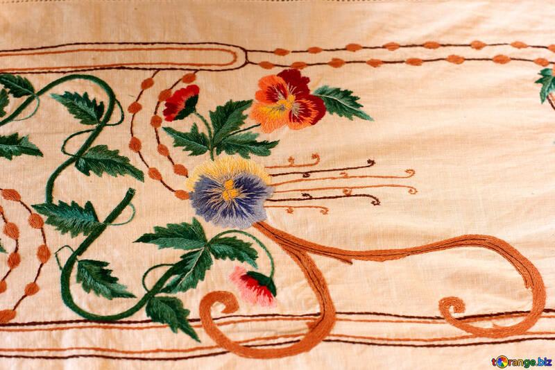 An old Ukrainian embroidery №23481