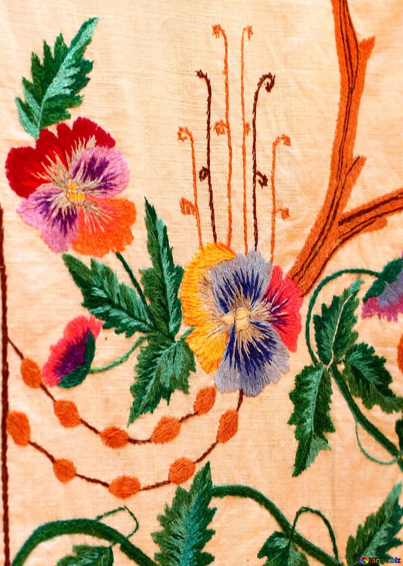 Ukrainian folk embroidery №23482