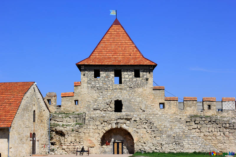 The restored castle №23816