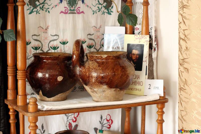 Antique vases for food №23500