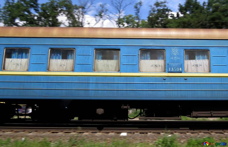 Treno di passeggero Rails №23022
