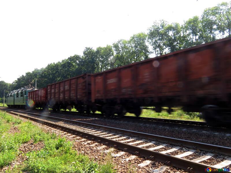 Trasporto merci per ferrovia №23003