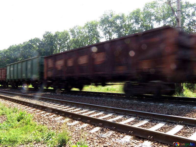 Consegna di merci per ferrovia №23001