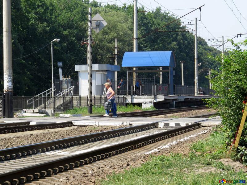 Passaggio ferroviario vuoto №23006