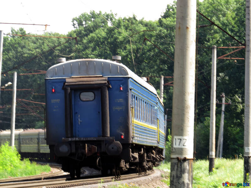 The passing train №23019