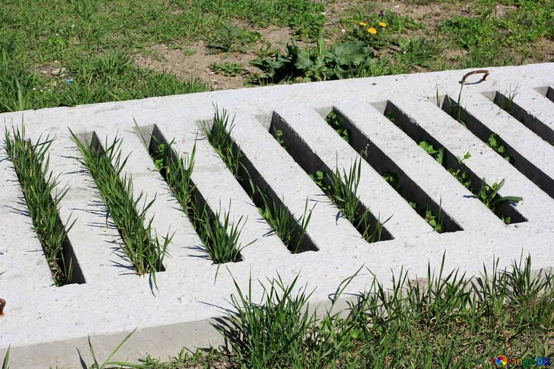 Concrete drainage path №23679