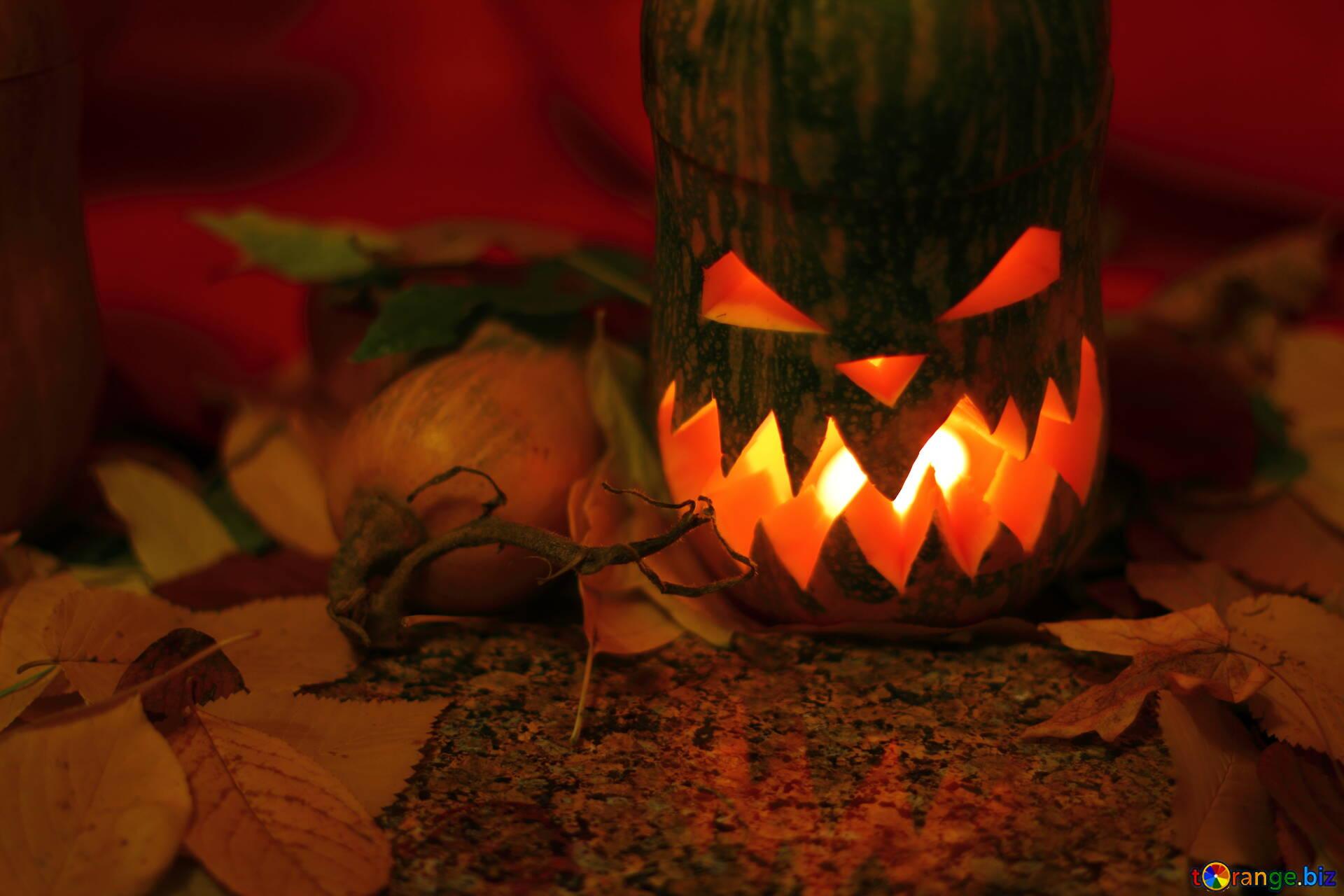 Zucca di halloween jack lampada illuminazione festa per halloween