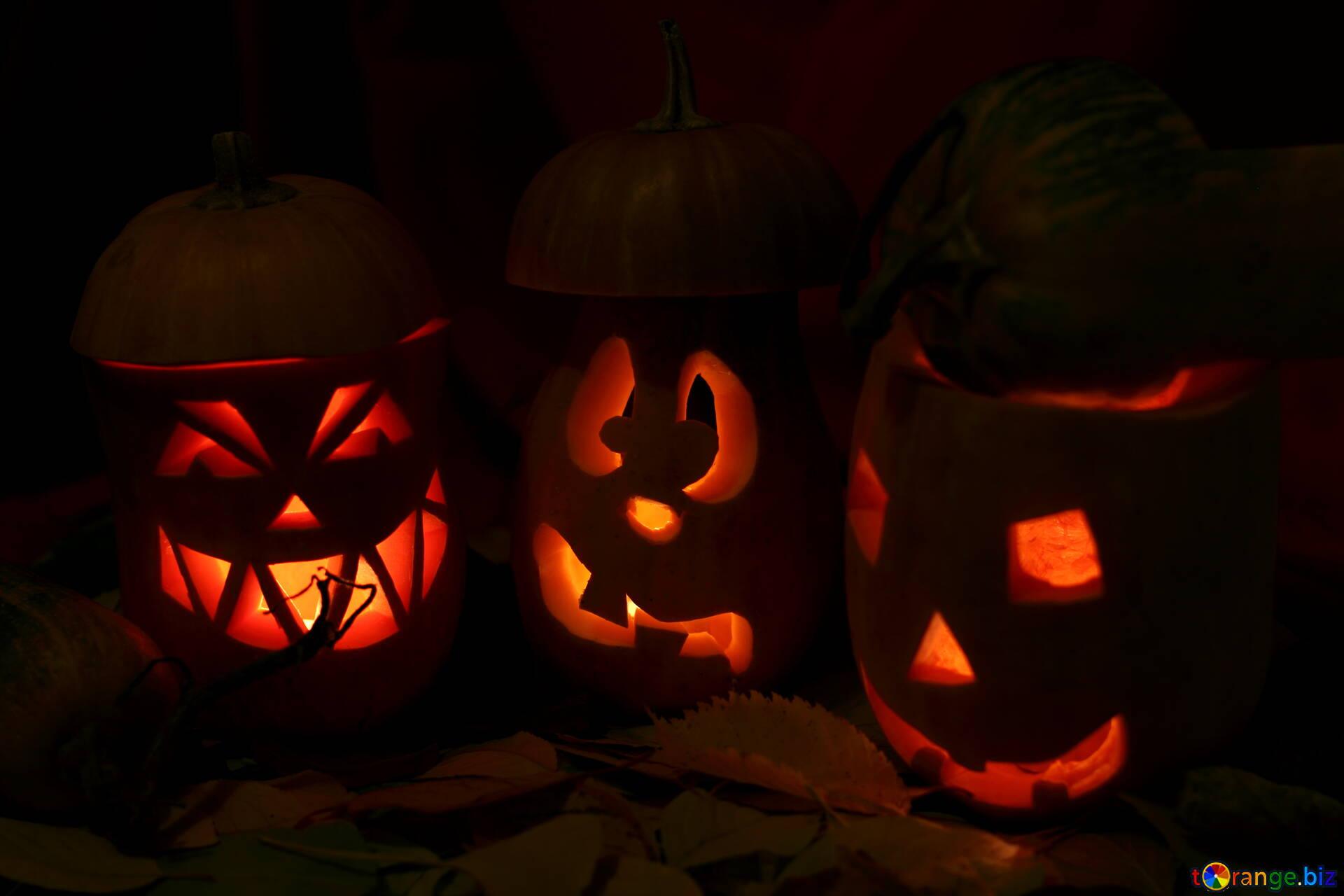 calendrier de citrouilles pour halloween salutations de vacances sur