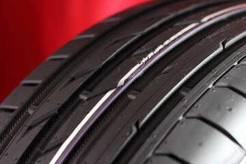 Tread car wheel №24120
