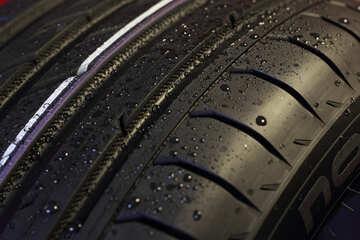 Car wheel for rain №24101