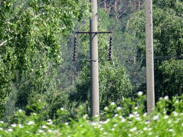 Electricity transmission line №24986