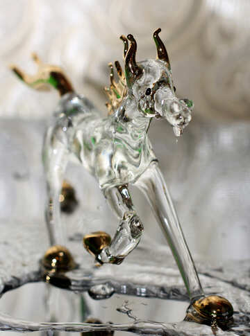 Glass horse №24522