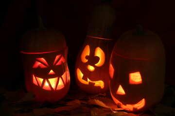 Halloween background on desktop №24318