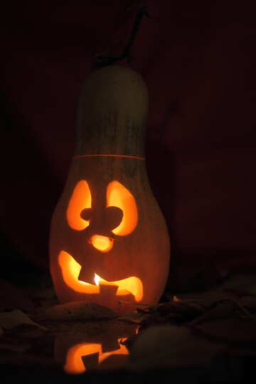 Image compliments on Halloween with pumpkin №24233