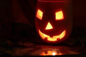 Halloween pumpkin №24300