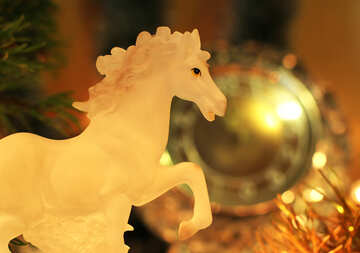 Horse symbol of the year 2014 №24557