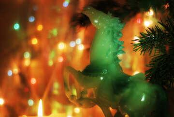 Horse Christmas wallpaper destkop №24578