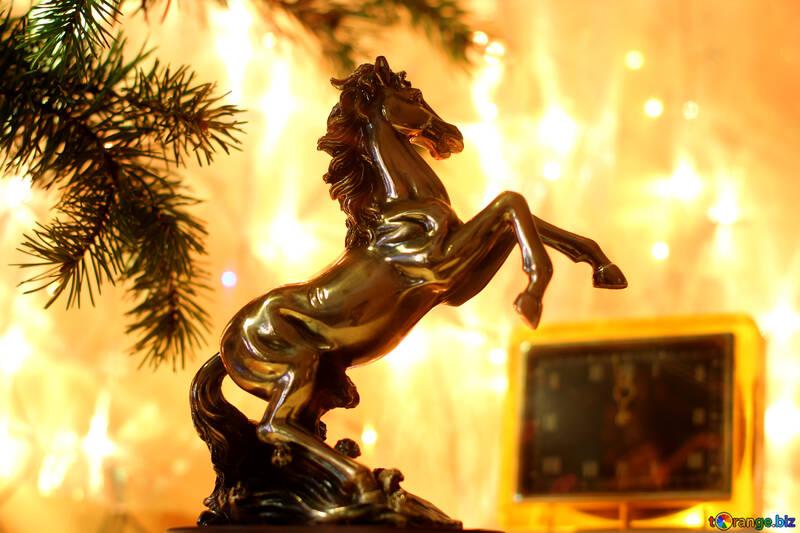 Fondo para Felicitaciones por el año del caballo №24591