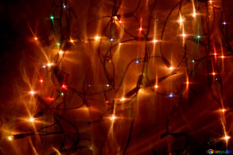 Christmas garland №24610