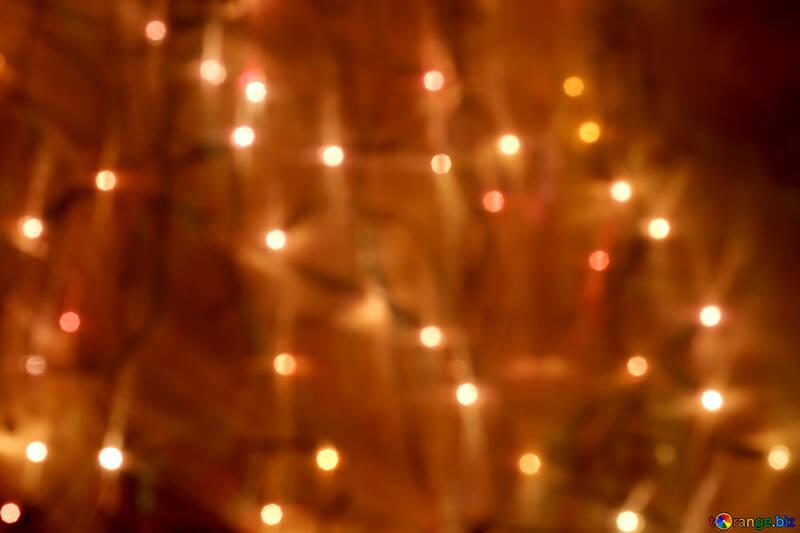 Garland der Lichter zu Weihnachten №24604