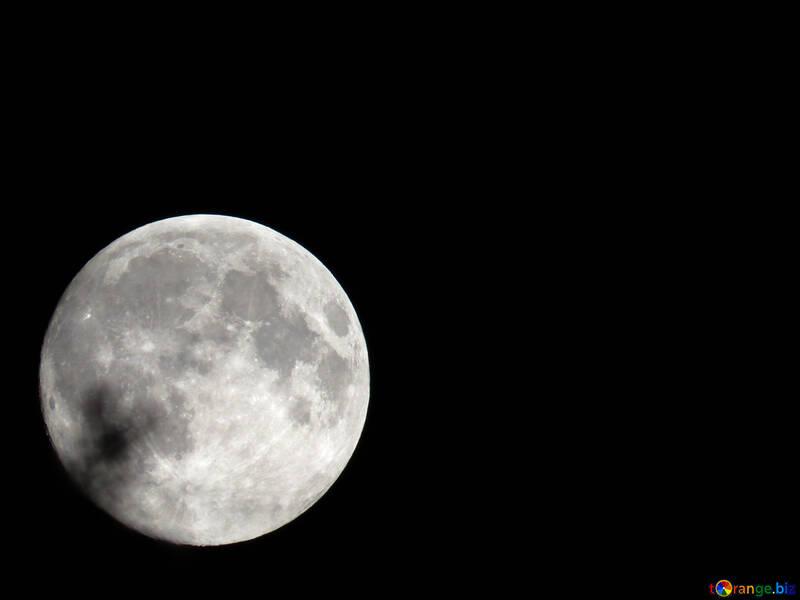 Moon background on desktop №24180