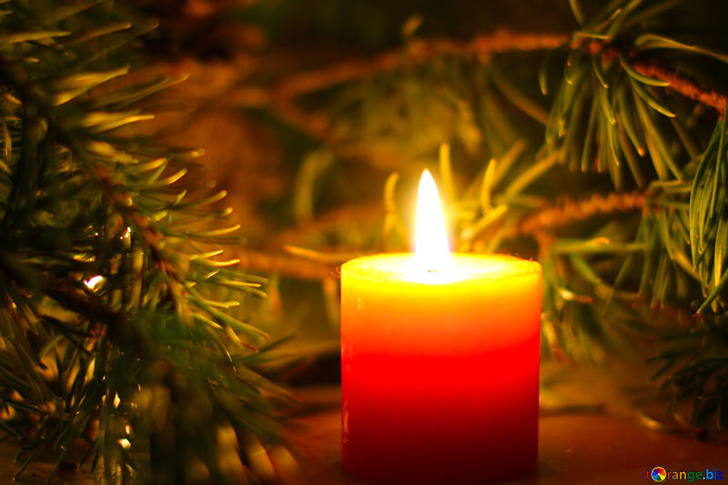 Holiday candle №24635