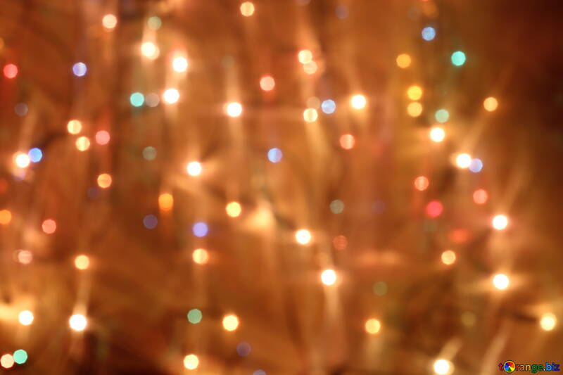 Guirlande d`ampoules pour la nouvelle année №24605