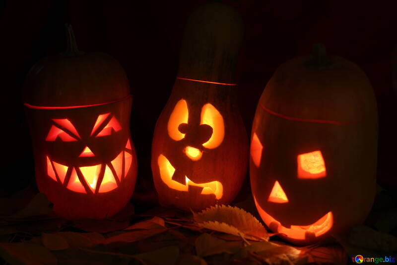 Хэллоуин фон на поздравление №24316