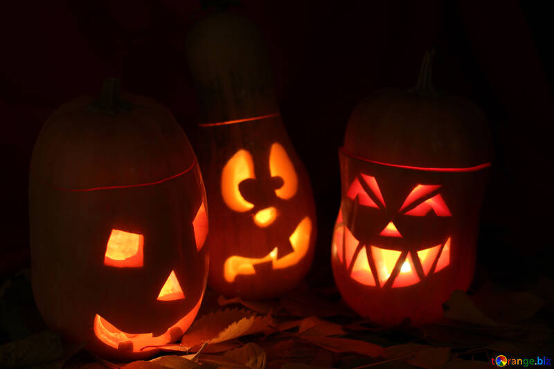 Hermoso escritorio de Halloween №24320
