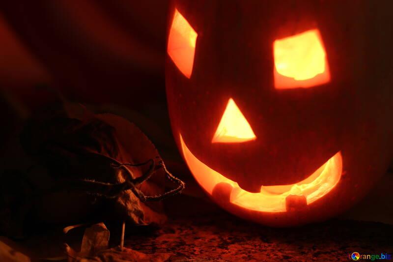 Лампа светильник на хэллоуин №24296