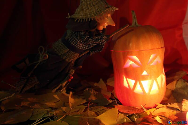 Svtetilnik picture of pumpkin for witch №24331