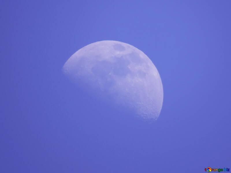 A huge moon №24537