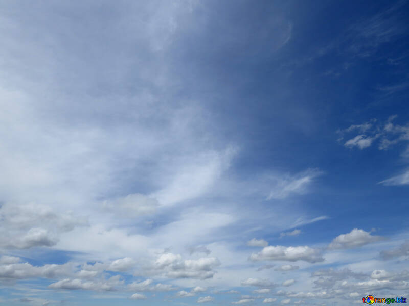 Clouds in the sky №24200