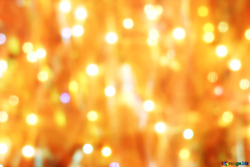 Background of Christmas lights №24613