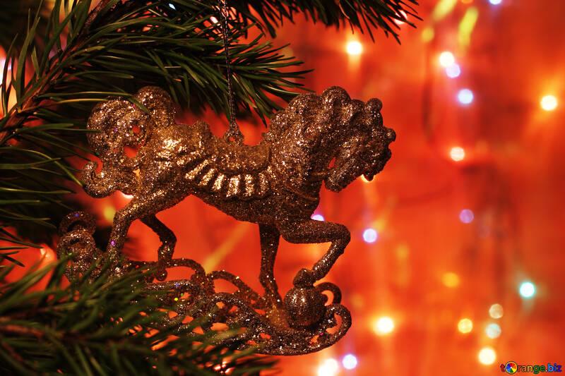 Cheval jouet de Noël №24603