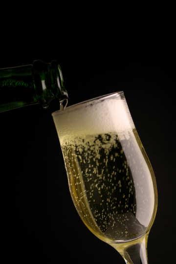 Glass of wine №25742
