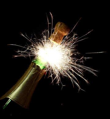 Fiery champagne №25613