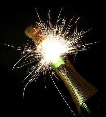 Fireworks of champagne №25611