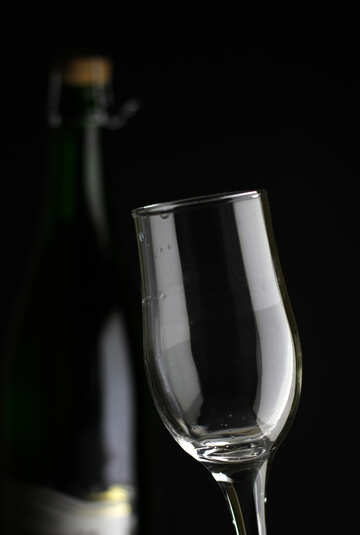 Champagne glass №25781