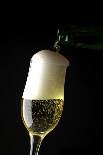Sparkling wine №25766