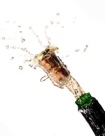 Christmas champagne №25092