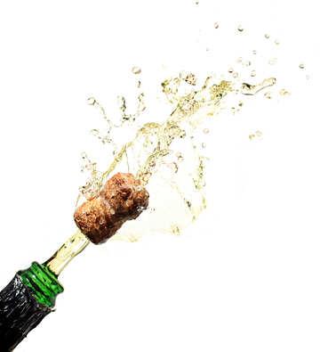 Champagne wine №25101