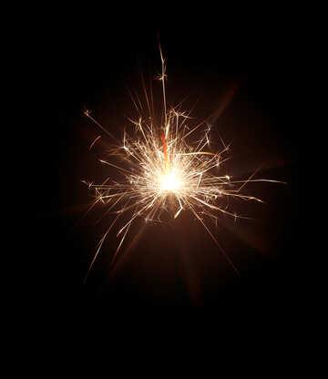 Sparkling fire №25694