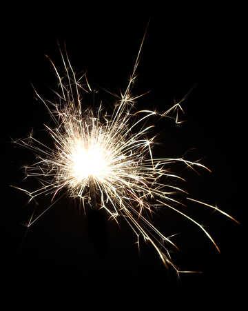Sparkling flame №25681