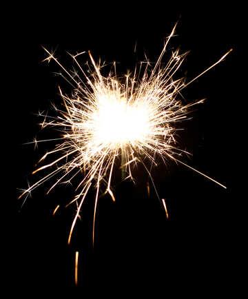 Spray fire №25722