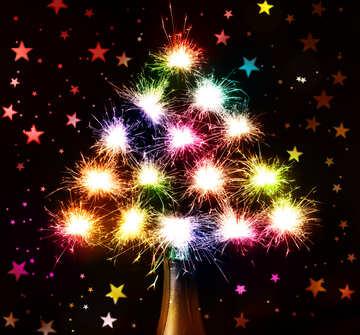 Silvester Feuerwerk aus der Flasche №25589
