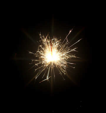 Christmas sparks №25689